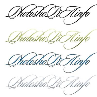 Качественный шрифт для фотошопа