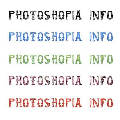 Немножко зловещий шрифт francis mirtha для