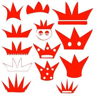 Вручную короны для фотошопа